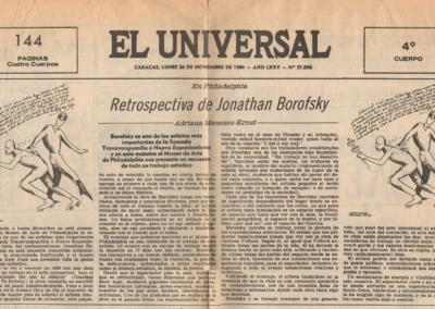 En Philadelphia: retrospectiva de Jonathan Borofsky