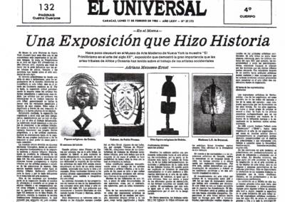 En el Moma: una exposición que hizo historia