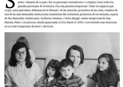 Sofía Ímber, mi madre