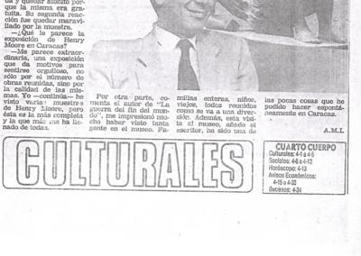 Vargas Llosa y Moore